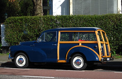 1968 Morris Minor 1000 Traveller (rvandermaar) Tags: 1968 morris minor 1000 traveller morrisminor sidecode3 11gk54 rvdm