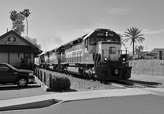 Arizona to California (BravoDelta1999) Tags: arizonaandcalifornia arzc railroad burlingtonnorthernsantafe bnsf railway atchisontopekaandsantafe atsf santafe santafeprescottandphoenix sfpp peavine phoenixsubdivision emd sd402 sd40m2 sd45 sd452 4004 4003 4002 mphxmat manifest train arizona wickenburg