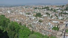 DSCF5546 Alcazaba de la Alhambra, Granada (Thomas The Baguette) Tags: granada spain granadaspain espagne espana alhambra nesrid nesridpalace patiodelosleones lionfountain comares moorish fountains architecture gardens machuca alcazaba