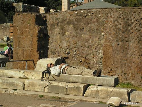 Римський форум, Рим, Італія InterNetri Italy 490