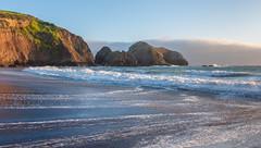 Rodeo Beach Tide (Matt McLean) Tags: beach california cliffs coast ocean pacific rodeobeach sanfrancisco surf tide
