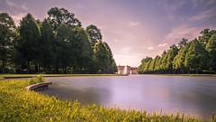 Castle Schleißheim (redfurwolf) Tags: castle schleisheim schleissheim bavaria germany landscape park sky trees outdoor lake pond redfurwolf sonyalpha a7riii sony sonydeutschland grass