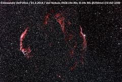 Veil (achrntatrps) Tags: nightshot d5300 nikon photographe photographer alexandredellolivo dellolivo lachauxdefonds suisse nuit night nacht achrntatrps achrnt atrps radon200226 radon etoiles stars sterne estrellas stelle astronomie astronomy nicht noche notte nikkorafs200400mmf4 suivi astrophotographie eosforastro astrotrac320x cygnus cygne hiiregion halpha dentellesducygne veilnebula snrg0740086 boucleducygne cygnusloop sh2103 ngc6992 ngc6995 ic1340 petitedentelle 52cygni ngc6960 grandedentelle triangledepickering ngc6974 ngc6979 sharpless103 w78 cirrusnebula westernveil easternveil pickeringstriangle pickeringswedge filamentarynebula witchsbroom