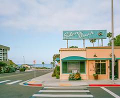 lets go somewhere (Keegan L) Tags: mamiya7 beachtown beach solana california southerncalifornia sandiego nostalgia americana film portra mediumformat 400 analog filmcamera mamiya kodak town usa