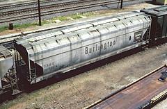 CB&Q Class LO-8B 185250 (Chuck Zeiler) Tags: cbq class lo8b 185250 burlington railroad covered hopper freight car cicero train chuckzeiler chz