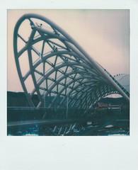 The Bridge of Peace • PolaroidWeek   Day 5/1 (o_stap) Tags: polaroid600 filmisnotdead ishootfilm roidweek polaweek polaroidweek polaroidoriginals polaroid
