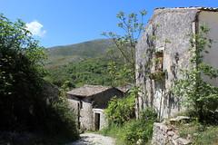 Street in Ano Perithia (Walruscharmer) Tags: ghostvillage street perithia pandokratoras corfu ionianislands greece