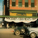 Digital Pastel Drawing of a Grocery Store in Lincoln by Charles W. Bailey, Jr.