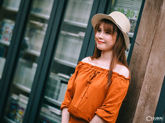Street Girl (SuBinZ) Tags: portrait dress girl gái young lady vietnam vietnamese flickr flickrcom beauty nikon d850 105mm tree park grass road rain bokeh light long hair áo street sun people