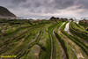 Barrica. (Ernest Bech) Tags: euskadi bilbao barrica mar sea sky cielo cel nuvols nubes couls rocks roques stones landscape longexposure llargaexposició llums lights luces