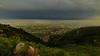 Over the Haze (Mansoor Bashir) Tags: islamabad islamabadcapitalterritory pakistan pk cloudscape cloud landscape cityscape overcast thunderstorm weather aerial wide rural countryside himalayas mountains hills orange blue golden hour fog mist haze margalla dusk sunset sundown