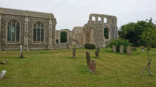 Remains of Walberswick Church