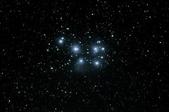 "M45 ""Plejaden"" (ReppiX) Tags: astronomy night sky long m45 plejaden stars canon 650d astro"