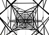 Grid (Hans Veuger) Tags: nederland thenetherlands amsterdam amsterdamnoord thegrid pylon highvoltage hoogspanningsmast lookingup monochrome zwwt bw nikon b700 coolpix hss nederlandvandaag up twop