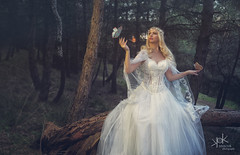 "Sylvia Sakka in Wedding Dress by SpirosK photography: ""Runaway Bride"" (SpirosK photography) Tags: wedding dress fashion product photoshoot forest greece lamia νυφικό λαμία ελλάδα weddingdress fashionphotoshoot fantasy δάσοσ bride runawaybride runaway dark butterflies insects 3d"