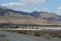 Sunspots in the Searles Valley (CN Southwell) Tags: trona railway rr railroad california sd402 sd40e sd40t2