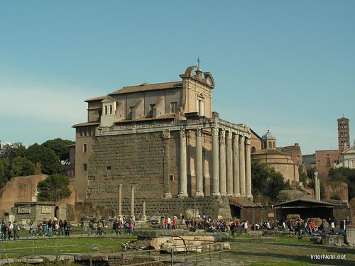 Римський форум, Рим, Італія InterNetri Italy 527