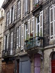 Terrace Apartment in Bordeaux (Professor Bop) Tags: structure professorbop drjazz olympusem1 bordeauxfrance street
