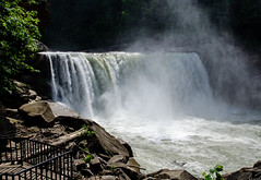 Cumberland Falls (J.I. Wall) Tags: water mountains waterfall kentucky outside river nature williamsburg unitedstates us