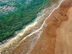 The coast of gold (Pat Charles) Tags: surfersparadise queensland australia au goldcoast gold coast surfers paradise beach sand waves shore shoreline drone aerial photography mavic dji shadow ocean surf walk walking walkers water travel tourism