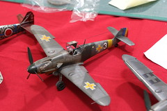 Messerschmitt Me-109 (CHRISTOPHE CHAMPAGNE) Tags: 2018 exposition maquette neufgrange 57 lorraine france 132 messerschmitt bf109 me109 roumanie