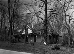 Empty in Jonesville (Nickademus42) Tags: graflex anniversary speed graphic 4x5 aristra 100 large format film photography podcast project kodak ektar 127mm