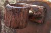 Pole Holder (Durley Beachbum) Tags: odc rust metal bournemouth