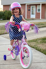 1/52 - genevieve and the birthday bike (dracisk) Tags: people children kids genevieve 52project dracisk