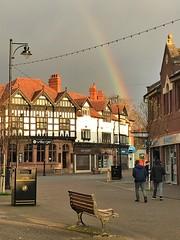 Crosby, Liverpool, England (PaChambers) Tags: crosby sefton greatcrosby rainbow crosbyvillage merseyside liverpool suburb town mersey northwest england uk gb greatbritain