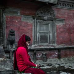Asia / Nepal / Lalitpur (Pablo A. Ferrari) Tags: pabloferrariart asia nepal lalitpur patan woman mujer street calle urban city unesco ancient