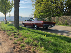 1970 Plymouth Roadrunner (FOXTROT|ROMEO) Tags: plymouth division mopar car auto musclecar roadrunner dodge chrysler 383cui v8 muscle usa us orange red vinyl roof vintage classic oldtimer