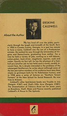 Penguin Books 627 - Erskine Caldwell - Tobacco Road (back) (swallace99) Tags: penguin vintage 40s american paperback
