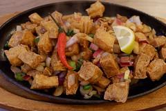 Tofu Sisig (knightbefore_99) Tags: pinay filipino tasty best awesome vegan tofu kulinarya vancouver bc art commercialdrive fun sisig crispy soy sauce nice sizzling plate chilli