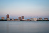 Baton Rouge (Bruce Bordelon) Tags: batonrouge louisiana mississippiriver skyline sunset