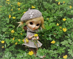 We can not imagine a world without flowers... (Herzlichkeiten) Tags: doll pullip stica lilly