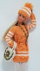 Old Barbie 6.1 (ЕТВ) Tags: barbie doll fashion knitting crochet crocheting