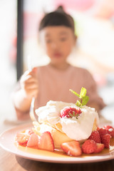 Let's eat (Apricot Cafe) Tags: img87172 asia asianandindianethnicities cafe healthylifestyle japan japaneseethnicity tamronsp35mmf18divcusdmodelf012 adolescence candid carefree casualclothing charming cheerful chibaprefecture child childhood colorimage copyspace cream day dessert enjoyment focusonfront foodanddrink girls happiness indoors innocence leisureactivity lifestyles lunch oneperson pancake people photography preschoolage realpeople restaurant selectivefocus smiling springtime strawberry sustainablelifestyle toddler waistup weekendactivities ichiharashi chibaken jp