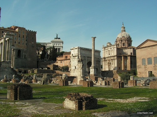 Римський форум, Рим, Італія InterNetri Italy 515