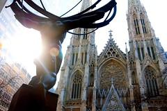 St. Patrick's Cathedral - New York (PauAngelero) Tags: atlas cathedral stpatricks rockefeller nuevayork newyork
