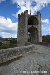 Besalú (CATDvd) Tags: catalonia catalunya march2018 catdvd davidcomas httpwwwdavidcomasnet httpwwwflickrcomphotoscatdvd nikond70s architecture arquitectura building edifici edificio bridge pont puente besalú
