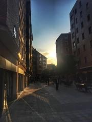 Bilbao Shopping Street (Traveller'sLens) Tags: pretty stunning beautiful vacation holiday travel europe spain bilbao city sunset