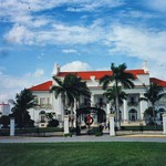 Whitehall - Flagler Museum - Exterior - Architecture Neoclassical -  Beaux-Arts - Palm Beach  Florida thumbnail