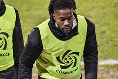 Tosaint Ricketts ready if the boss needs him (PJMixer) Tags: toronto spring people nikon concacaf soccer football