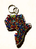 Colors of Africa (PJD-DigiPic) Tags: pjddigipic keyfob beads beadedafricakeyfob africaoutline africa craft colors multicolored macro closeup