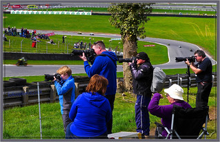 Our Grandson (and some fine photos he took as well) Son (and 2 others) At BSB at Brands Hatch Last Saturday