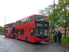The Odd One Out (londonbusexplorer) Tags: metroline travel optare metrodecker om1 yj16dbo 90 northolt feltham tfl london buses