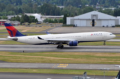 Delta Air Lines - Airbus A330-300 - N805NW - Portland International Airport (PDX) - June 3, 2015 2 534 RT CRP (TVL1970) Tags: nikon nikond90 d90 nikongp1 gp1 geotagged nikkor70300mmvr 70300mmvr aviation airplane aircraft airlines airliners portlandinternationalairport portlandinternational portlandairport portland pdx kpdx n805nw deltaairlines delta dal northwestairlines northwest nwa airbus airbusindustrie airbusa330 airbusa330300 a330300 airbusa330323 a330323 a330323x a330 prattwhitney pw pw4000 pw4168a thrustreverser thrustreversers