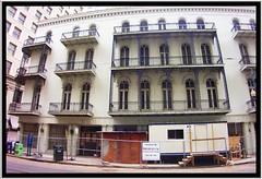 New Orleans Louisiana -  The Hibernia Homestead building collapsed  - Demolished (Onasill ~ Bill Badzo) Tags: cuba newyork usa