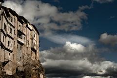 Al borde. Frias. Burgos. IMG_9403_ps (Inclitus) Tags: frias pueblo burgos nubes cielo arquitectura