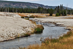 Iron Spring Creek (skyhawkpc) Tags: copyright allrightsreserved wy wyoming gverver 2017 yellowstone nationalpark ironspringcreek blacksandbasin